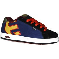 Baskets basses Etnies samples shoes  FADER BLUE BLACK YELLOW GREEN KIDS / EN
