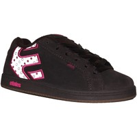 Chaussures Garçon Baskets basses Etnies samples shoes  FADER BROWN WHITE PINK KIDS / ENFANTS Multicolore