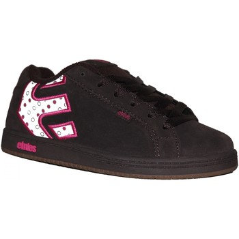 Baskets basses Etnies samples shoes  FADER BROWN WHITE PINK KIDS / ENFANTS