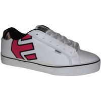 Chaussures Femme Baskets basses Etnies samples shoes  FADER VULC WHITE PINK BLACK WOMEN Multicolore