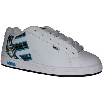 Baskets basses Etnies samples shoes  FADER WHITE BLACK BLUE KIDS / ENFANTS