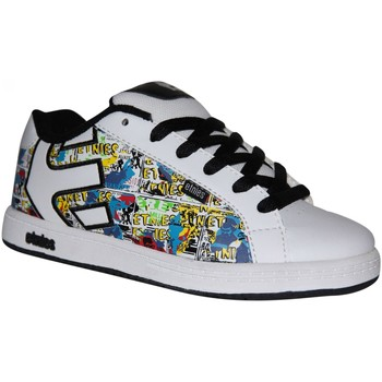 Chaussures Baskets basses Etnies samples shoes  FADER WHITE BLACK WHITE KIDS / ENFANTS Multicolore