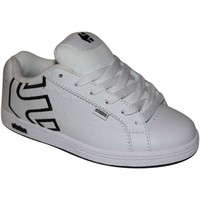 Chaussures Garçon Baskets basses Etnies samples shoes  FADER WHITE GREY BLACK KIDS / ENFANTS Multicolore