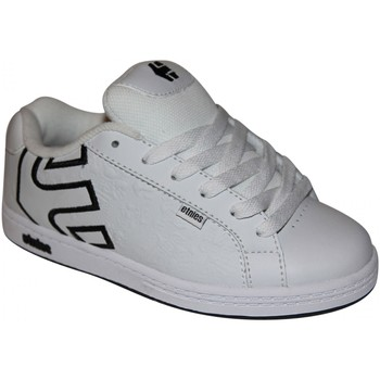 Baskets basses Etnies samples shoes  FADER WHITE GREY BLACK KIDS / ENFANTS