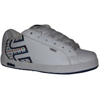 Chaussures Garçon Baskets basses Etnies samples shoes  FADER WHITE NAVY KIDS / ENFANTS Blanc