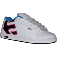 Baskets basses Etnies samples shoes  FADER WHITE PINK BLUE KIDS / ENFANTS