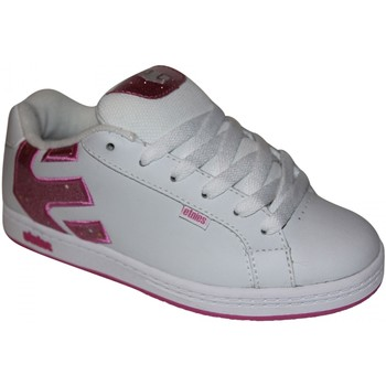 Baskets basses Etnies samples shoes  FADER WHITE PINK KIDS / ENFANTS