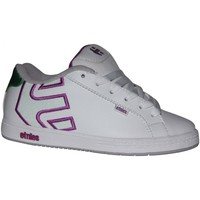 Baskets basses Etnies samples shoes  FADER WHITE PURPLE KIDS / ENFANTS