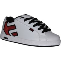 Chaussures Garçon Baskets basses Etnies samples shoes  FADER WHITE RED BLACK KIDS / ENFANTS Multicolore