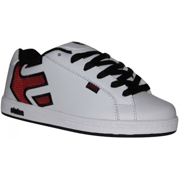 Baskets basses Etnies samples shoes  FADER WHITE RED BLACK KIDS / ENFANTS