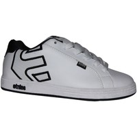 Chaussures Garçon Baskets basses Etnies samples shoes  FADER WHITE WHITE BLACK KIDS / ENFANTS Blanc