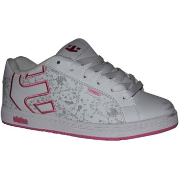 Baskets basses Etnies samples shoes  FADER WHITE WHITE PINK KIDS / ENFANTS