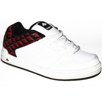 Chaussures Enfant Baskets basses Etnies samples shoes  HERETIC3 WHITE RED PRINT KIDS / ENFANTS Multicolore