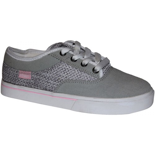 Etnies Baskets Femme samples shoes  JAMESON SEED GREY PINK WHITE WOMEN Multicolore - Chaussures Baskets basses Femme