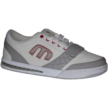Baskets basses Etnies samples shoes  KIKX WHITE GREY PINK WOMEN