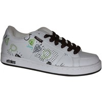 Baskets basses Etnies samples shoes  KING PING WHITE BROWN WOMEN
