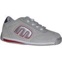 Baskets basses Etnies samples shoes  LO CUT 2 GREY WHITE SILVER WOMEN