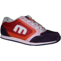 Chaussures Femme Baskets basses Etnies samples shoes  LO CUT 2 PURPLE WHITE KIDS / ENFANTS Multicolore
