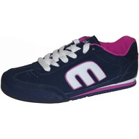 Chaussures Femme Baskets basses Etnies samples shoes  LOMAX NAVY NAVY WHITE WOMEN Bleu marine