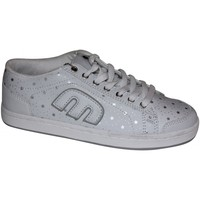 Chaussures Femme Baskets basses Etnies samples shoes  LO-PRO-BALLER WHITE SILVER WOMEN Blanc