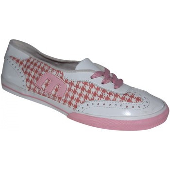 Baskets basses Etnies samples shoes  LO-SLIP WHITE PINK WOMEN