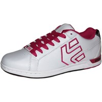 Chaussures Femme Baskets basses Etnies samples shoes  MEDINA WHITE PINK WOMEN Blanc