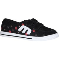 Chaussures Fille Baskets basses Etnies samples shoes  MISSY BLACK WHITE RED KIDS / ENFANTS Multicolore