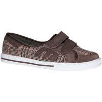 Chaussures Fille Baskets basses Etnies samples shoes  MISSY BROWN PINK WHITE KIDS / ENFANTS Multicolore