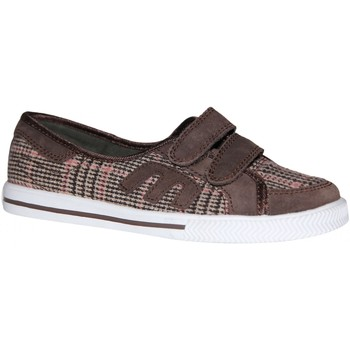 Baskets basses Etnies samples shoes  MISSY BROWN PINK WHITE KIDS / ENFANTS