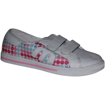 Baskets basses Etnies samples shoes  MISSY WHITE PINK KIDS / ENFANTS