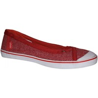Chaussures Femme Ballerines / babies Etnies samples shoes  MYRA RED WHITE WOMEN Rouge