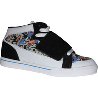 Baskets montantes Etnies samples shoes  NEW MID PLUS WHITE BLUE BLACK WOMEN
