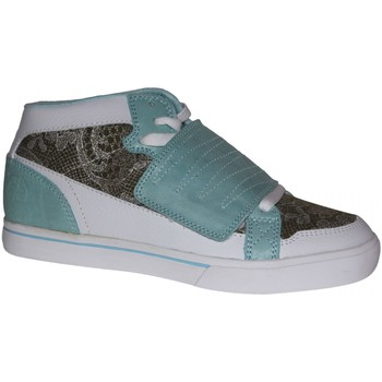 Baskets montantes Etnies samples shoes  NEW MID PLUS WHITE BLUE WOMEN