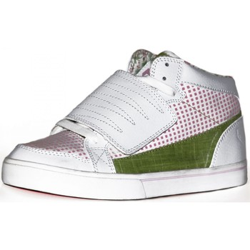 Chaussures Femme Baskets montantes Etnies samples shoes  NEW MID PLUS WHITE GREEN WOMEN Blanc