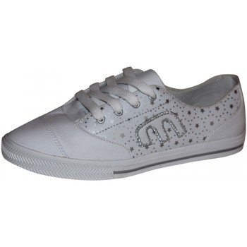 Chaussures Femme Baskets basses Etnies samples shoes  PLIMSY WHITE SILVER WOMEN Blanc