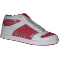 Baskets montantes Etnies samples shoes  PLOVER PLUS PINK WHITE WOMEN