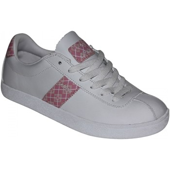 Baskets basses Etnies samples shoes  PREMIERE WHITE PINK WOMEN