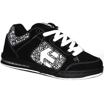 Baskets basses Etnies samples shoes  PRIM BLACK WHITE BLACK KIDS / ENFANTS