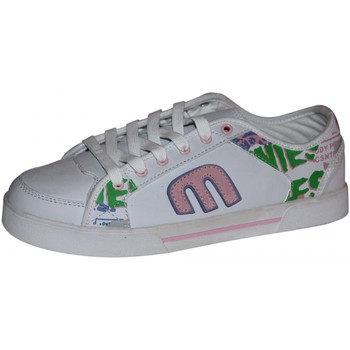 Chaussures Femme Baskets basses Etnies samples shoes  RHEA WHITE PINK WHITE WOMEN Blanc