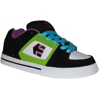 Chaussures Garçon Baskets basses Etnies samples shoes  RONIN BLACK PURPLE KIDS / ENFANTS Noir
