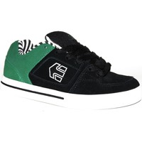 Baskets basses Etnies samples shoes  RONIN BLACK WHITE GREEN KIDS / ENFANTS