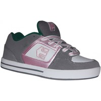 Baskets basses Etnies samples shoes  RONIN GREY PINK WHITE KIDS / ENFANTS