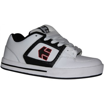 Baskets basses Etnies samples shoes  RONIN WHITE BLACK RED KIDS / ENFANTS