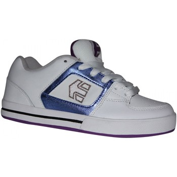 Chaussures Garçon Baskets basses Etnies samples shoes  RONIN WHITE VIOLET KIDS / ENFANTS Blanc