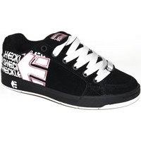 Baskets basses Etnies samples shoes  SHECKLER 3 BLACK WHITE PINK KIDS / ENFA