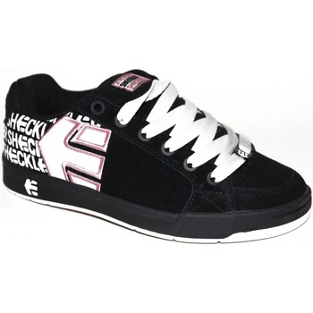 Chaussures Garçon Baskets basses Etnies samples shoes  SHECKLER 3 BLACK WHITE PINK KIDS / ENFA Multicolore