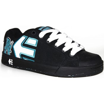 Chaussures Garçon Baskets basses Etnies samples shoes  SHECKLER 3 BLACK WHITE TURQUOISE KIDS / Multicolore