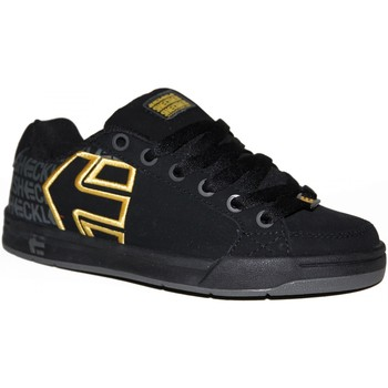 Baskets basses Etnies samples shoes  SHECKLER 3 BLACK YELLOW GREY KIDS / ENF