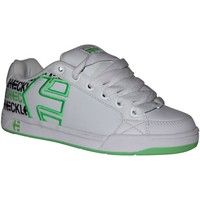 Chaussures Garçon Baskets basses Etnies samples shoes  SHECKLER 3 WHITE GREEN KIDS / ENFANTS Blanc