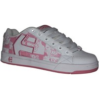 Chaussures Fille Baskets basses Etnies samples shoes  SHECKLER 3 WHITE PINK KIDS / ENFANTS Blanc